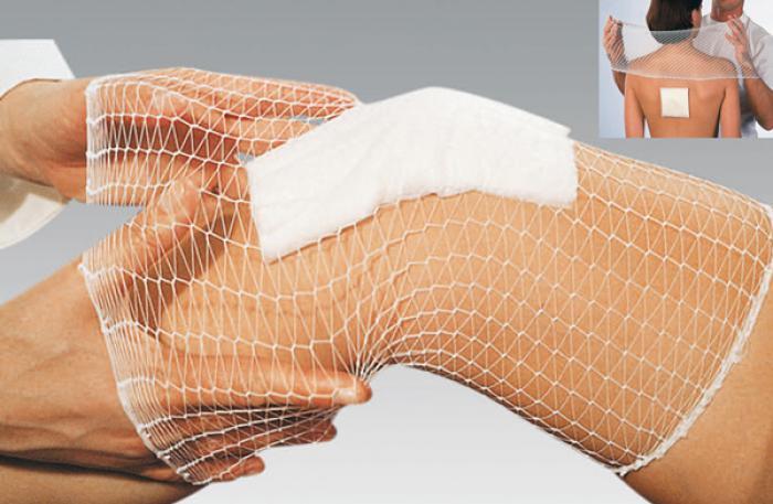 Le ba. Ba du bandage médical